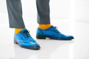 Kleurrijke heren schoenen mode 2021