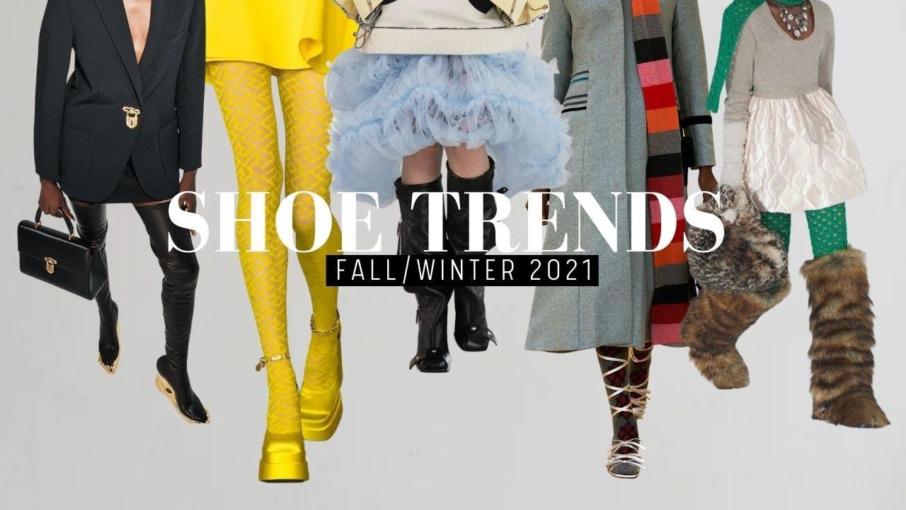Nieuwe schoenen trends winter 2021