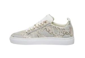 Van Lier dames schoenen Violetta beige print