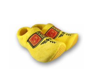 Gele klompen pantoffels kopen